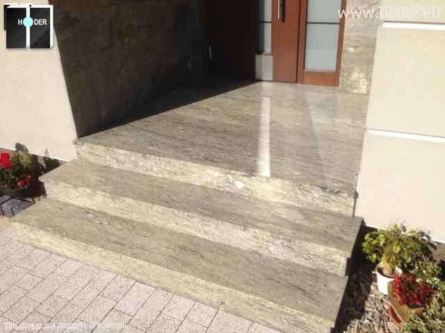 schody marmurowe, zewnętrzne