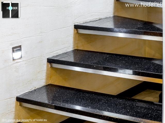 schody marmurowe, granitowe, wewnętrzne